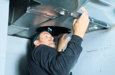 Service your air conditioning and Cleaning Duct - Ductwork cleanouts keep your systems healthier and remove allergens; Duct Cleaning with Sani-Vac in the capital region